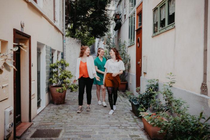 Elsa Couteiller Photographie - elsamichellelaurablanche.com - séance photos lifestyle - les soeurs R - les soeurs du 18ème - Paris